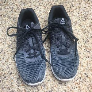 Reebok Black Memory Foam Tennis Shoes Size 8